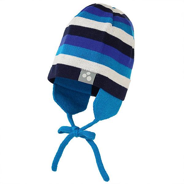 Шапка CAIRO HuppaДемисезонные<br>Характеристики товара:<br><br>• цвет: голубой; <br>• модель: Cairo;<br>• состав: 100% акрил;<br>• без дополнительного утепления;<br>• сезон: демисезон;<br>• температурный режим: от -5 до +10С;<br>• особенности: вязаная, в полоску;<br>• шапка на завязках;<br>• защита ушей от ветра;<br>• светоотражающие элементы;<br>• страна бренда: Эстония;<br>• страна изготовитель: Эстония.<br><br>Вязаная шапка из акрила с накладками на уши для защиты от ветра. Шапка завязывается на завязки, декорирована цветными полосками. Шапка дополнена светоотражающей эмблемой.<br><br>Шапку CAIRO от бренда Huppa (Хуппа) можно купить в нашем интернет-магазине.<br>Ширина мм: 89; Глубина мм: 117; Высота мм: 44; Вес г: 155; Цвет: голубой; Возраст от месяцев: 72; Возраст до месяцев: 132; Пол: Унисекс; Возраст: Детский; Размер: 55-57,43-45,47-49,51-53; SKU: 7571805;