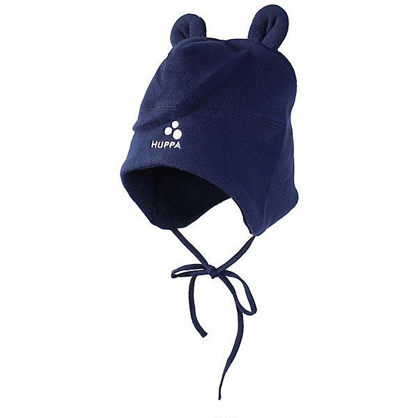 Шапка  WINNIE HuppaДемисезонные<br>Характеристики товара:<br><br>• цвет: коричневый; <br>• модель: Winnie;<br>• состав: 100% полиэстер, флис; <br>• подкладка: 100% хлопок<br>• температурный режим: от -5°С до +10°С;<br>• шапка на завязках;<br>• сплошная хлопковая подкладка;<br>• декоративные ушки сверху;<br>• светоотражающие детали;<br>• страна бренда: Эстония;<br>• страна изготовитель: Эстония.<br><br>Флисовая шапка на завязках. Она сделана из приятного на ощупь материала с мягким ворсом, подкладка из гладкого, приятного на ощупь трикотажа, поэтому изделие не колется и не натирает. Шапка декорирована забавными ушками и дополнена светоотражающими элементами.<br><br>Шапку WINNIE от бренда Huppa (Хуппа) можно купить в нашем интернет-магазине.<br>Ширина мм: 89; Глубина мм: 117; Высота мм: 44; Вес г: 155; Цвет: темно-синий; Возраст от месяцев: 0; Возраст до месяцев: 3; Пол: Унисекс; Возраст: Детский; Размер: 39,47,43; SKU: 7571955;