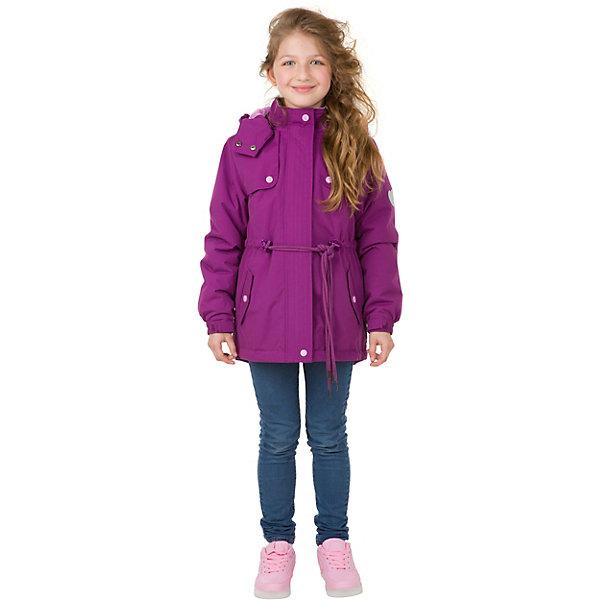 Парка Premont для девочкиВерхняя одежда<br>Характеристики товара:<br><br>• цвет: фиолетовый;<br>• состав ткани: мембрана, Pongee с эффектом бархатистой поверхности (peach skin);<br>• подкладка: taffeta (рукава, тело), трикотаж с ворсом (капюшон, внутренняя часть воротника, карманы, отделка внутренней планки);<br>• утеплитель: Tech-Polyfill 100 г/м? ;<br>• сезон: демисезон;<br>• температурный режим: от -5 до +10;<br>• водонепроницаемость: 3000 мм; <br>• паропроницаемость: 3000 г/м2/24ч;<br>• застежка: молния YKK;<br>• съёмный капюшон на молнии;<br>• защита подбородка;<br>• утяжка капюшона;<br>• внешняя ветрозащитная планка на липучках;<br>• эластичные манжеты на рукавах с доп. регулировкой (липучка);<br>• дополнительная утяжка по талии и по низу изделия;<br>• два кармана на липучках;<br>• внутренняя этикетка с местом для имени;<br>• капюшон застегивается на две кнопки на подбородке;<br>• светоотражающие элементы (шнур , нашивки);<br>• светоотражающие пуллеры с логотипом;<br>• внутренний нагрудный карман на липучке;<br>• декоративный принт на спинке;<br>• страна бренда: Канада;<br>• страна изготовитель: Китай<br><br>Куртка-парка для девочки «Лавандовое вдохновение» из коллекции Premont Весна 2018 обладает необычным стильным дизайном и приятным цветом. Модель дополнена возможностью утяжки по уровню талии при помощи длинных шнурков. В дизайне верхней части используются дополнительные накладки на уровне плечей и груди, а по спинке есть нежный цветочный рисунок. <br><br>Отличительной особенностью данной модели является пропитка Peach skin - придает материалу бархатистую, персиковую фактурность. На ощупь материал более приятный и мягкий к телу, выглядит матовым, без глянцевого блеска. <br><br>Куртку-парку для девочки «Лавандовое вдохновение» от Premont (Премонт) можно купить в нашем интернет-магазине.<br>Ширина мм: 356; Глубина мм: 10; Высота мм: 245; Вес г: 519; Цвет: лиловый; Возраст от месяцев: 60; Возраст до месяцев: 72; Пол: Женский; Возраст: Детский; Размер: 116,164,