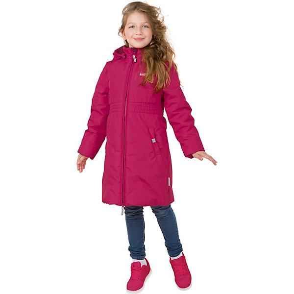 Пальто Premont для девочкиВерхняя одежда<br>Характеристики товара:<br><br>• цвет: розовый;<br>• состав ткани: мембрана, Pongee;<br>• подкладка: taffeta (рукава, тело), трикотаж с ворсом (капюшон, внутренняя часть воротника, карманы, отделка внутренней планки);<br>• утеплитель: Tech-Polyfill 120 г/м? ;<br>• сезон: демисезон;<br>• температурный режим: от -10 до +10;<br>• водонепроницаемость: 3000 мм; <br>• паропроницаемость: 3000 г/м2/24ч;<br>• застежка: молния YKK;<br>• съёмный капюшон на молнии;<br>• утяжка капюшона;<br>• защита подбородка;<br>• внутренняя ветрозащитная планка;<br>• внутренняя эластичная манжета;<br>• эластичная резинка по талии;<br>• два кармана в виде бантиков со светоотражающей тканью;<br>• внутренняя этикетка с местом для имени;<br>• светоотражающие элементы (шнур , нашивки);<br>• светоотражающие пуллеры с логотипом;<br>• внутренний нагрудный карман на липучке;<br>• страна бренда: Канада;<br>• страна изготовитель: Китай<br><br>Пальто для девочки «Королевский пион» из коллекции Premont Весна 2018 - это яркая утепленная модель длиной до уровня колена и с кроем в виде колокольчика. Благодаря широкой утяжке изделие красиво выделяет талию.  Изящный силуэт и яркая расцветка понравятся девочкам, а удлиненный крой защитит от ветра. Изящная посадка позволяет носить это пальто Премонт с любым низом – юбками и брюками, утепленными штанами и джинсами.<br><br>Утепленное пальто Premont выделяется тем, что содержит утеплитель весом 120 г/м2.  Оно достаточно длинное, поэтому закрывает тело от ветра и холода. По температурному режиму идеально подойдет для межсезонья, когда необходима легкая верхняя одежда, в которой ребенок не будет потеть при потеплении и не замерзнет при внезапных заморозках.<br><br>Пальто для девочки «Королевский пион» от Premont (Премонт) можно купить в нашем интернет-магазине.<br>Ширина мм: 356; Глубина мм: 10; Высота мм: 245; Вес г: 519; Цвет: розовый; Возраст от месяцев: 48; Возраст до месяцев: 60; Пол: Женский; Возраст: Детский; Размер: 