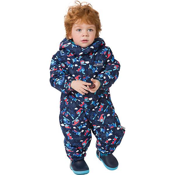 Комбинезон Premont для мальчикаВерхняя одежда<br>Характеристики товара:<br><br>• цвет: синий, красный;<br>• состав ткани: мембрана, Pongee, с переплетением rip stop;<br>• подкладка: хлопок, taffeta (только рукава, брючины);<br>• утеплитель, плотность: Tech-Polyfill, 100 г/м?;<br>• сезон: демисезон;<br>• температурный режим: от -5 до +10;<br>• водонепроницаемость: 3000 мм;<br>• паропроницаемость: 3000 г/м2;<br>• съемный капюшон на молнии; <br>• утяжка капюшона; <br>• внешняя ветрозащитная планка на липучках; <br>• удлинённая молния для лёгкого одевания, защита подбородка; <br>• эластичные манжеты на рукавах и брючинах; <br>• светоотражающие элементы (шнур, нашивки); <br>• съемные варежки и пинетки в размерах 6 мес -12 мес, съемные силиконовые штрипки с 18 мес; <br>• внутренняя хлопковая отделка манжеты на рукавах; <br>• внутренняя этикетка с местом для имени;  <br>• эластичная резинка по талии ; <br>• два кармана на липучках; <br>• светоотражающие пуллеры с логотипом;<br>• страна бренда: Канада;<br>• страна изготовитель: Китай.<br><br>Комбинезон Premont для мальчика «Полет над Виннипегом» - яркий и легкий комбинезон отличается стильным дизайном и веселым принтом, из коллекции Весна 2018 года. Изготовлен из высокотехнологичного материала – мембрана, защищает от ветра и влаги снаружи, сохраняет тепло и сухой климат внутри.<br>Специальная структура переплетения нитей Rip Stop обеспечивает высокую прочность одежды как во время прогулок, так и при занятии активными видами спорта. <br>Утеплитель нового поколения Tech-Polyfill и современные подкладочные ткани Taffeta и Jersey обладают теплоизолирующими и гипоаллергенными свойствами. <br><br>Комбинезон Premont для мальчика «Полет над Виннипегом» можно купить в нашем интернет-магазине.<br>Ширина мм: 356; Глубина мм: 10; Высота мм: 245; Вес г: 519; Цвет: темно-синий; Возраст от месяцев: 24; Возраст до месяцев: 36; Пол: Мужской; Возраст: Детский; Размер: 98,92,86,80,74,68; SKU: 7580195;
