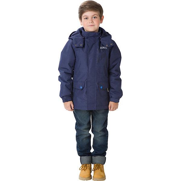 Купить Парка Premont для мальчика, Китай, темно-синий, 140, 134, 128, 122, 116, 110, 164, 158, 152, 146, Мужской
