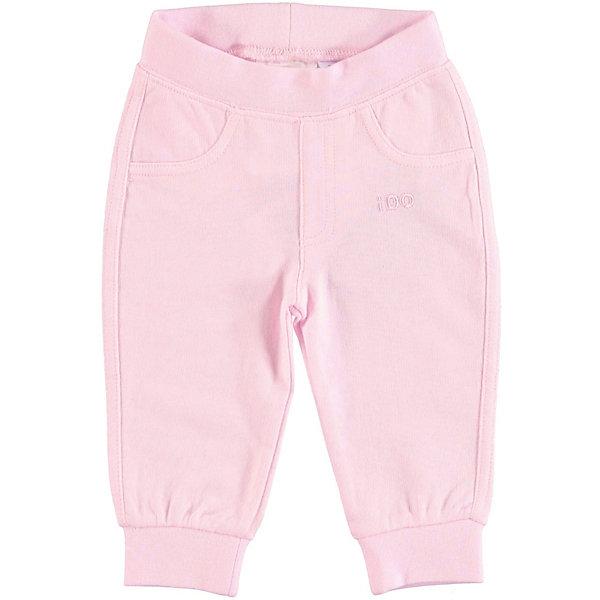Брюки iDO для девочкиБрюки<br>Характеристики товара:<br><br>• цвет: розовый<br>• состав ткани: 100% хлопок<br>• сезон: круглый год<br>• особенности модели: спортивный стиль<br>• пояс: резинка<br>• страна бренда: Италия<br><br>Спортивные детские брюки выполнены в универсальной расцветке. Эти брюки для ребенка разработаны итальянскими дизайнерами популярного бренда iDO, который выпускает модные и удобные вещи для детей. Брюки для девочки выполнены из дышащего натурального хлопка.<br><br>Брюки iDO (АйДу) для девочки можно купить в нашем интернет-магазине.<br>Ширина мм: 215; Глубина мм: 88; Высота мм: 191; Вес г: 336; Цвет: розовый; Возраст от месяцев: 3; Возраст до месяцев: 6; Пол: Женский; Возраст: Детский; Размер: 68,86,80,74; SKU: 7587866;