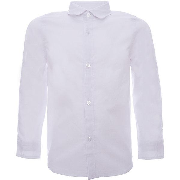 Рубашка iDO для мальчикаТолстовки, свитера, кардиганы<br>Характеристики товара:<br><br>• цвет: белый<br>• состав ткани: 100% хлопок<br>• сезон: круглый год<br>• особенности модели: пуговица для пристегивания подвернутого рукава<br>• застежка: пуговицы<br>• длинные рукава<br>• страна бренда: Италия<br>• стиль и качество iDO<br><br>Классическая детская рубашка дополнена пуговицей для пристегивания подвернутого рукава. Такая рубашка для ребенка разработана итальянскими дизайнерами популярного бренда iDO, который выпускает модные и удобные вещи для детей. Рубашка для мальчика сделана из легкого дышащего натурального хлопка.<br><br>Рубашку iDO (АйДу) для мальчика можно купить в нашем интернет-магазине.<br>Ширина мм: 174; Глубина мм: 10; Высота мм: 169; Вес г: 157; Цвет: белый; Возраст от месяцев: 18; Возраст до месяцев: 24; Пол: Мужской; Возраст: Детский; Размер: 92,116,110; SKU: 7587948;