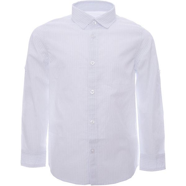 Рубашка iDO для мальчикаТолстовки, свитера, кардиганы<br>Характеристики товара:<br><br>• цвет: голубой<br>• состав ткани: 100% хлопок<br>• сезон: круглый год<br>• особенности модели: пуговица для пристегивания подвернутого рукава<br>• застежка: пуговицы<br>• длинные рукава<br>• страна бренда: Италия<br>• стиль и качество iDO<br><br>Голубая детская рубашка отличается классическим кроем. Эта рубашка для ребенка - от известного итальянского бренда iDO, который известен высоким качеством и европейским стилем выпускаемой одежды для детей. Рубашка для мальчика поможет создать удобный и модный наряд.<br><br>Рубашку iDO (АйДу) для мальчика можно купить в нашем интернет-магазине.<br>Ширина мм: 174; Глубина мм: 10; Высота мм: 169; Вес г: 157; Цвет: голубой; Возраст от месяцев: 18; Возраст до месяцев: 24; Пол: Мужской; Возраст: Детский; Размер: 92,122,116,110,104,98; SKU: 7587952;