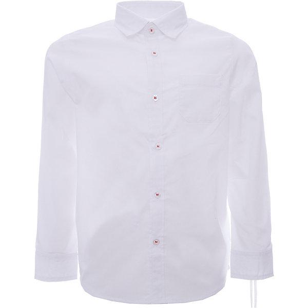 Рубашка iDO для мальчикаБлузки и рубашки<br>Характеристики товара:<br><br>• цвет: белый<br>• состав ткани: 63% хлопок, 37% полиэстер<br>• сезон: круглый год<br>• особенности модели: нарядная<br>• застежка: пуговицы<br>• длинные рукава<br>• страна бренда: Италия<br>• стиль и качество iDO<br><br>Белая рубашка для мальчика сшита преимущественно из дышащего натурального хлопкового материала, который отлично подходит малышам. Такая детская рубашка от известного бренда iDO из Италии обеспечит ребенку комфорт. Рубашка для детей отличается классическим кроем и высоким качеством пошива.<br><br>Рубашку iDO (АйДу) для мальчика можно купить в нашем интернет-магазине.<br>Ширина мм: 174; Глубина мм: 10; Высота мм: 169; Вес г: 157; Цвет: белый; Возраст от месяцев: 36; Возраст до месяцев: 48; Пол: Мужской; Возраст: Детский; Размер: 104,122,116,110; SKU: 7587979;