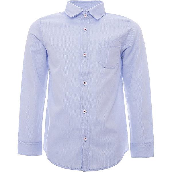 Рубашка iDO для мальчикаБлузки и рубашки<br>Характеристики товара:<br><br>• цвет: белый<br>• состав ткани: 63% хлопок, 37% полиэстер<br>• сезон: круглый год<br>• особенности модели: нарядная<br>• застежка: пуговицы<br>• длинные рукава<br>• страна бренда: Италия<br>• стиль и качество iDO<br><br>Легкая детская рубашка отличается классическим кроем. Такая рубашка для ребенка разработана итальянскими дизайнерами популярного бренда iDO, который выпускает модные и удобные вещи для детей. Рубашка для мальчика сделана преимущественно из легкого дышащего натурального хлопка.<br><br>Рубашку iDO (АйДу) для мальчика можно купить в нашем интернет-магазине.<br>Ширина мм: 174; Глубина мм: 10; Высота мм: 169; Вес г: 157; Цвет: голубой; Возраст от месяцев: 72; Возраст до месяцев: 84; Пол: Мужской; Возраст: Детский; Размер: 122,104,110,116; SKU: 7587984;