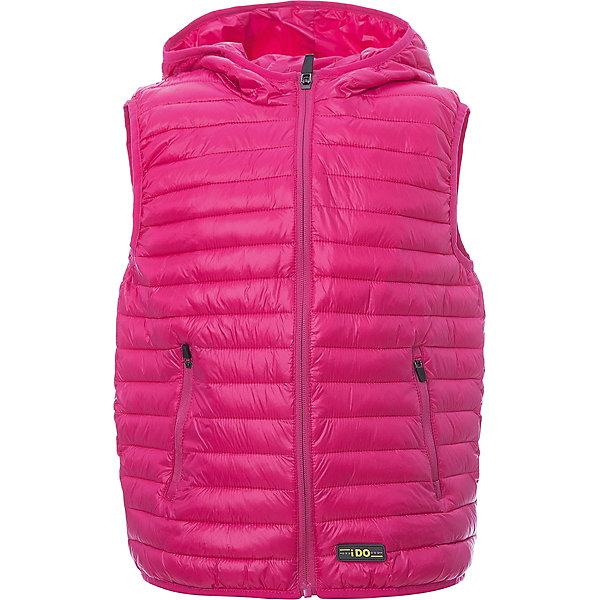 Жилет iDO для мальчикаВерхняя одежда<br>Характеристики товара:<br><br>• цвет: розовый<br>• состав ткани: 100% полиэстер<br>• подкладка: 100% полиэстер<br>• сезон: демисезон<br>• особенности модели: стеганая, с капюшоном<br>• застежка: молния<br>• страна бренда: Италия<br><br>Стеганый детский жилет дополнен удобным капюшоном. Этот жилет для ребенка разработан итальянскими дизайнерами популярного бренда iDO, который выпускает модные и удобные вещи для детей. Жилет стеганый застегивается на молнию.<br><br>Жилет iDO (АйДу) демисезонный можно купить в нашем интернет-магазине.<br>Ширина мм: 356; Глубина мм: 10; Высота мм: 245; Вес г: 519; Цвет: розовый; Возраст от месяцев: 18; Возраст до месяцев: 24; Пол: Мужской; Возраст: Детский; Размер: 92,122,98,104,110,116; SKU: 7588155;