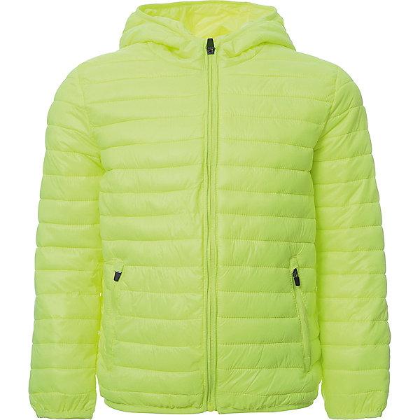Куртка iDO для мальчикаВерхняя одежда<br>Характеристики товара:<br><br>• цвет: желтый<br>• состав ткани: 100% полиэстер<br>• подкладка: 100% полиэстер<br>• утеплитель: нет<br>• сезон: демисезон<br>• особенности модели: стеганая, с капюшоном<br>• застежка: молния<br>• страна бренда: Италия<br><br>Такая детская демисезонная куртка сделана из качественного материала. Модная куртка для ребенка - от известного итальянского бренда iDO, который известен высоким качеством и европейским стилем выпускаемой одежды для детей. Куртка для мальчика поможет создать удобный и модный наряд в прохладную погоду.<br><br>Куртку iDO (АйДу) для мальчика можно купить в нашем интернет-магазине.<br>Ширина мм: 356; Глубина мм: 10; Высота мм: 245; Вес г: 519; Цвет: желтый; Возраст от месяцев: 24; Возраст до месяцев: 36; Пол: Мужской; Возраст: Детский; Размер: 98,122,116,110,104; SKU: 7588169;