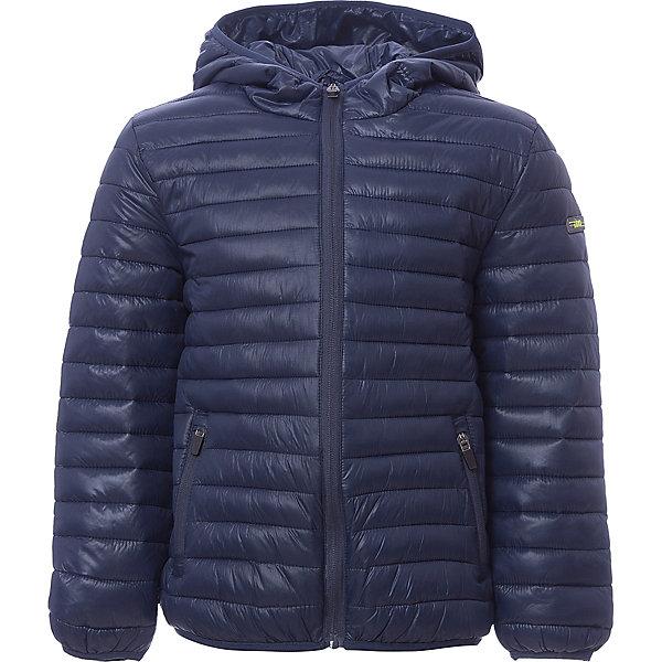 Куртка iDO для мальчикаВерхняя одежда<br>Характеристики товара:<br><br>• цвет: синий<br>• состав ткани: 100% полиэстер<br>• подкладка: 100% полиэстер<br>• утеплитель: нет<br>• сезон: демисезон<br>• особенности модели: стеганая, с капюшоном<br>• застежка: молния<br>• страна бренда: Италия<br><br>Такая детская демисезонная куртка сделана из качественного материала. Модная куртка для ребенка - от известного итальянского бренда iDO, который известен высоким качеством и европейским стилем выпускаемой одежды для детей. Куртка для мальчика поможет создать удобный и модный наряд в прохладную погоду.<br><br>Куртку iDO (АйДу) для мальчика можно купить в нашем интернет-магазине.<br>Ширина мм: 356; Глубина мм: 10; Высота мм: 245; Вес г: 519; Цвет: темно-синий; Возраст от месяцев: 18; Возраст до месяцев: 24; Пол: Мужской; Возраст: Детский; Размер: 92,122,116,110,104,98; SKU: 7588189;