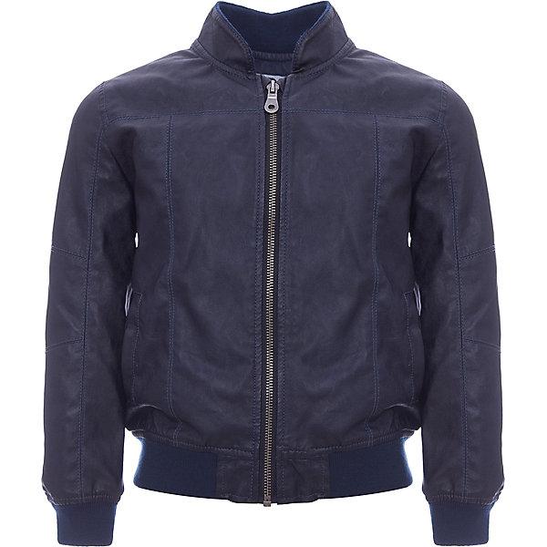 Куртка iDO для мальчикаВерхняя одежда<br>Характеристики товара:<br><br>• цвет: синий<br>• состав ткани: 54% вискоза, 46% полиэстер<br>• утеплитель: нет<br>• сезон: демисезон<br>• застежка: молния<br>• страна бренда: Италия<br>• стиль и качество iDO<br><br>Эта детская демисезонная куртка сделана из качественной эко-кожи. Модная куртка для ребенка - от известного итальянского бренда iDO, который известен высоким качеством и европейским стилем выпускаемой одежды для детей. Куртка для мальчика поможет создать удобный и модный наряд в прохладную погоду.<br><br>Куртку iDO (АйДу) для мальчика можно купить в нашем интернет-магазине.<br>Ширина мм: 356; Глубина мм: 10; Высота мм: 245; Вес г: 519; Цвет: темно-синий; Возраст от месяцев: 18; Возраст до месяцев: 24; Пол: Мужской; Возраст: Детский; Размер: 104,110,116,92,122,98; SKU: 7588220;