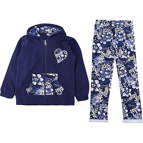 Спортивный костюм iDO для девочкиКомплекты<br>Характеристики товара:<br><br>• цвет: голубой<br>• комплектация: толстовка, брюки<br>• состав ткани: 95% хлопок, 5% синтетическое волокно<br>• сезон: круглый год<br>• особенности модели: спортивный стиль, с капюшоном<br>• застежка: молния<br>• пояс: резинка<br>• длинные рукава<br>• страна бренда: Италия<br>• стиль и качество iDO<br><br>Детский спортивный костюм на тонком флисе состоит из толстовки и брюк. Этот спортивный костюм для ребенка разработан итальянскими дизайнерами популярного бренда iDO, который выпускает модные и удобные вещи для детей. Спортивный костюм для девочки сделан из мягкого дышащего натурального хлопка.<br><br>Спортивный костюм iDO (АйДу) для девочки можно купить в нашем интернет-магазине.<br>Ширина мм: 247; Глубина мм: 16; Высота мм: 140; Вес г: 225; Цвет: голубой; Возраст от месяцев: 18; Возраст до месяцев: 24; Пол: Женский; Возраст: Детский; Размер: 92,122,98,104,110,116; SKU: 7588357;