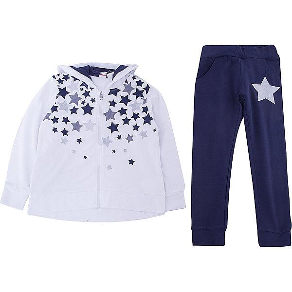 Купить Спортивный костюм iDO для девочки, Китай, голубой, 122, 116, 110, 104, 98, Женский