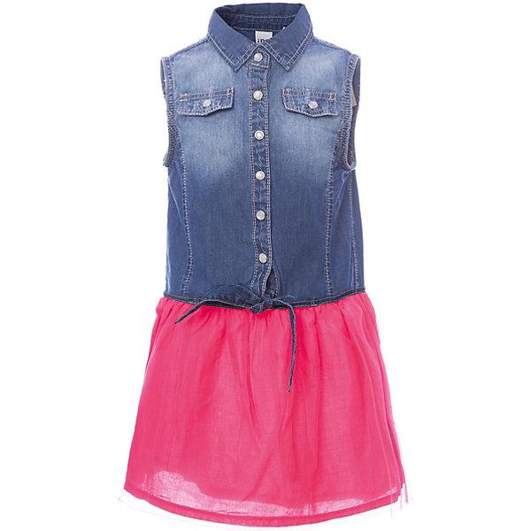 Купить Платье iDO для девочки, Китай, голубой, 92, 122, 116, 110, 104, 98, Женский