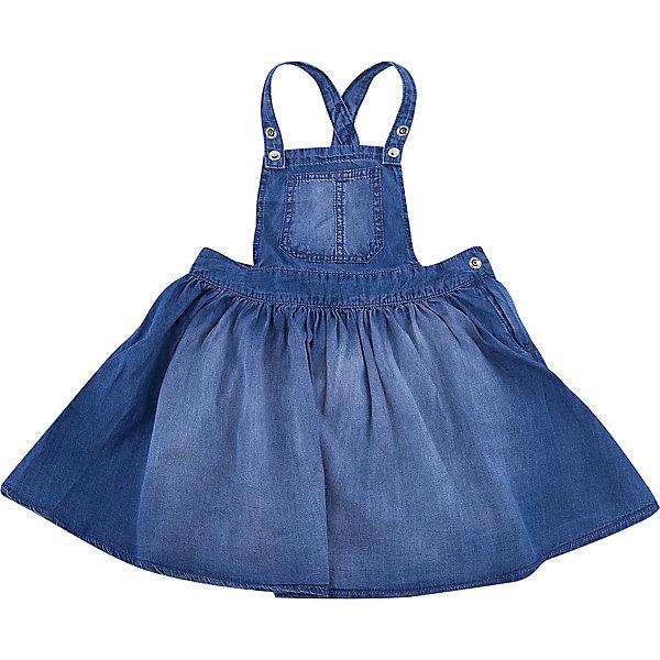 Сарафан iDO для девочкиПлатья<br>Характеристики товара:<br><br>• цвет: синий<br>• состав ткани: 100% хлопок<br>• сезон: лето<br>• без рукавов<br>• страна бренда: Италия<br>• стиль и качество iDO<br><br>Легкий джинсовый детский сарафан отличается оригинальным кроем. Этот сарафан для ребенка разработан итальянскими дизайнерами популярного бренда iDO, который выпускает модные и удобные вещи для детей. Сарафан для девочки сделан из дышащего натурального хлопка.<br><br>Сарафан iDO (АйДу) для девочки можно купить в нашем интернет-магазине.<br>Ширина мм: 236; Глубина мм: 16; Высота мм: 184; Вес г: 177; Цвет: синий; Возраст от месяцев: 18; Возраст до месяцев: 24; Пол: Женский; Возраст: Детский; Размер: 92,122,116,110,104,98; SKU: 7588430;