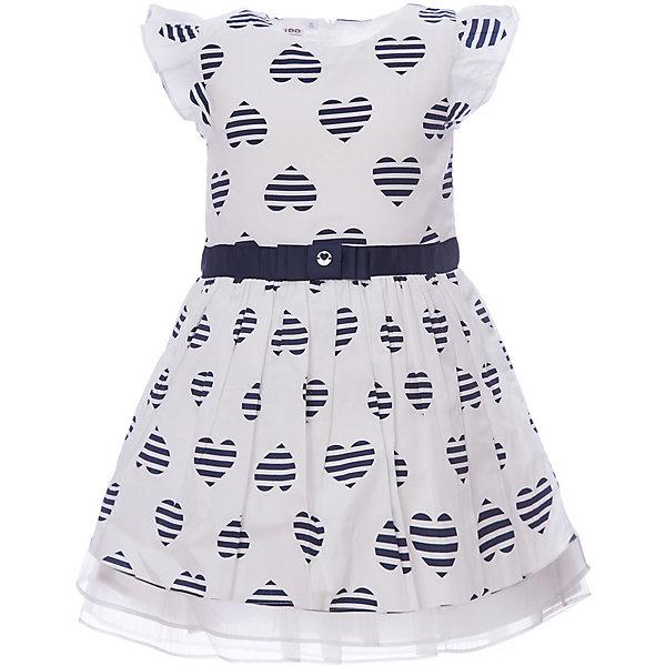 Платье iDO для девочкиПлатья и сарафаны<br>Характеристики товара:<br><br>• цвет: голубой<br>• состав ткани: 100% хлопок<br>• сезон: лето<br>• застежка: молния<br>• без рукавов<br>• страна бренда: Италия<br><br>Принтованное детское платье декорировано широким поясом. Это платье для ребенка разработано итальянскими дизайнерами популярного бренда iDO, который выпускает модные и удобные вещи для детей. Платье для девочки сделано преимущественно из мягкого дышащего натурального хлопка.<br><br>Платье iDO (АйДу) для девочки можно купить в нашем интернет-магазине.<br>Ширина мм: 236; Глубина мм: 16; Высота мм: 184; Вес г: 177; Цвет: голубой; Возраст от месяцев: 72; Возраст до месяцев: 84; Пол: Женский; Возраст: Детский; Размер: 122,98,104,110,116; SKU: 7588454;