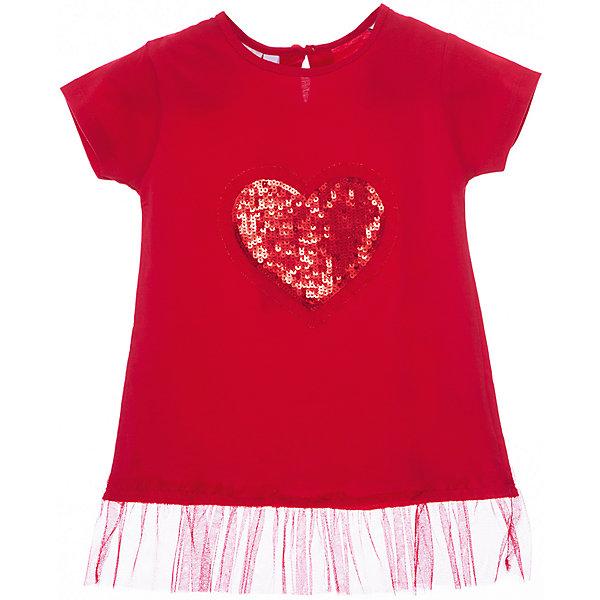 Футболка iDO для девочкиФутболки, поло и топы<br>Характеристики товара:<br><br>• цвет: красный<br>• состав ткани: 100% хлопок<br>• сезон: лето<br>• застежка: кнопки<br>• короткие рукава<br>• страна бренда: Италия<br>• стиль и качество iDO<br><br>Хлопковая детская футболка отличается оригинальной отделкой. Эта футболка для ребенка - от известного итальянского бренда iDO, который известен высоким качеством и европейским стилем выпускаемой одежды для детей. Футболка для девочки поможет создать удобный и модный наряд.<br><br>Футболку iDO (АйДу) для девочки можно купить в нашем интернет-магазине.<br>Ширина мм: 199; Глубина мм: 10; Высота мм: 161; Вес г: 151; Цвет: красный; Возраст от месяцев: 72; Возраст до месяцев: 84; Пол: Женский; Возраст: Детский; Размер: 122,98,104,110,116; SKU: 7588489;