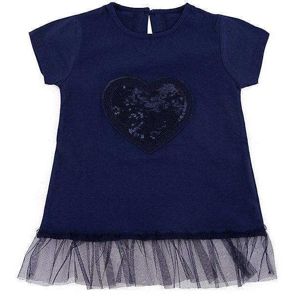 Футболка iDO для девочкиФутболки, поло и топы<br>Характеристики товара:<br><br>• цвет: синий<br>• состав ткани: 100% хлопок<br>• сезон: лето<br>• застежка: кнопки<br>• короткие рукава<br>• страна бренда: Италия<br>• стиль и качество iDO<br><br>Модная футболка для девочки сделана из дышащего натурального хлопка, гипоаллергенного и мягкого. Хлопковая детская футболка отличается оригинальной отделкой. Эта футболка для ребенка - от известного итальянского бренда iDO, который известен высоким качеством и европейским стилем выпускаемой одежды для детей. <br><br>Футболку iDO (АйДу) для девочки можно купить в нашем интернет-магазине.<br>Ширина мм: 199; Глубина мм: 10; Высота мм: 161; Вес г: 151; Цвет: синий; Возраст от месяцев: 24; Возраст до месяцев: 36; Пол: Женский; Возраст: Детский; Размер: 98,122,116,110,104; SKU: 7588495;