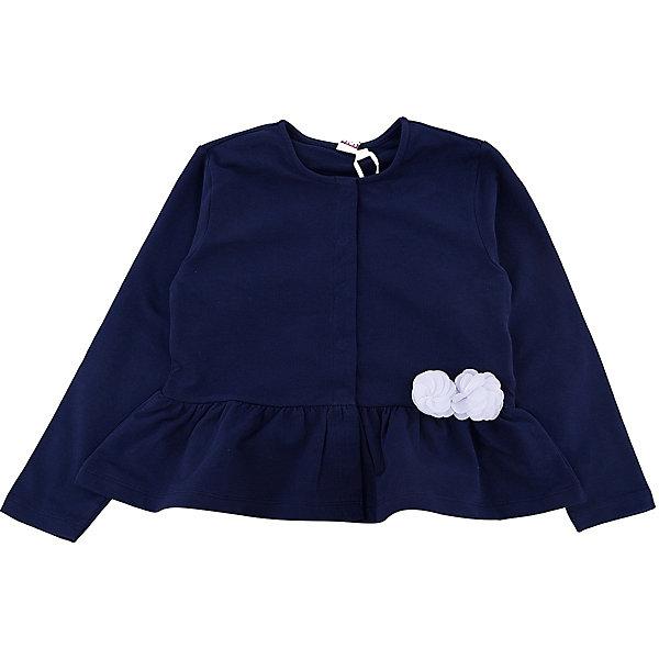 Джемпер iDO для девочкиСвитера и кардиганы<br>Характеристики товара:<br><br>• цвет: синий<br>• состав ткани: 95% хлопок, 5% синтетическое волокно<br>• сезон: демисезон<br>• застежка: кнопки<br>• длинные рукава<br>• страна бренда: Италия<br>• стиль и качество iDO<br><br>Трикотажный джемпер для девочки сшит из дышащего натурального хлопкового материала, который отлично подходит для малышей. Такой детский джемпер от известного бренда iDO из Италии поможет обеспечить ребенку тепло и комфорт. Джемпер для детей отличается стильным кроем и высоким качеством как фурнитуры, так и материала.<br><br>Джемпер iDO (АйДу) для девочки можно купить в нашем интернет-магазине.<br>Ширина мм: 190; Глубина мм: 74; Высота мм: 229; Вес г: 236; Цвет: синий; Возраст от месяцев: 72; Возраст до месяцев: 84; Пол: Женский; Возраст: Детский; Размер: 116,122,98,104,110; SKU: 7588501;