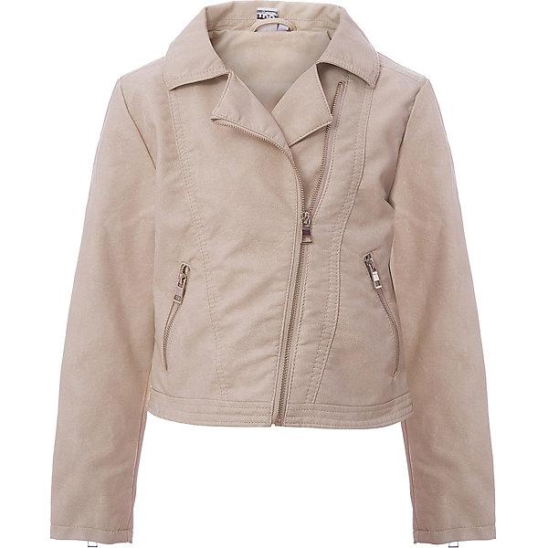 Купить Куртка iDO для девочки, Китай, бежевый, 98, 122, 116, 110, 104, Женский
