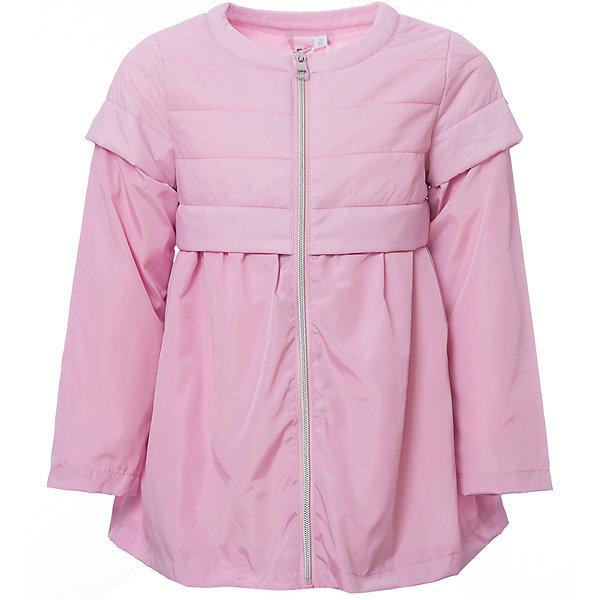 Куртка iDO для девочкиВерхняя одежда<br>Характеристики товара:<br><br>• цвет: розовый<br>• состав ткани: 100% полиэстер<br>• подкладка: 100% полиэстер<br>• утеплитель: нет<br>• сезон: демисезон<br>• особенности модели: без капюшона<br>• застежка: молния<br>• страна бренда: Италия<br><br>Удлиненная детская куртка сделана из качественного материала. Модная куртка для ребенка - от известного итальянского бренда iDO, который известен высоким качеством и европейским стилем выпускаемой одежды для детей. Куртка для девочки поможет создать удобный и модный наряд в прохладную погоду.<br><br>Куртку iDO (АйДу) для девочки можно купить в нашем интернет-магазине.<br>Ширина мм: 356; Глубина мм: 10; Высота мм: 245; Вес г: 519; Цвет: розовый; Возраст от месяцев: 18; Возраст до месяцев: 24; Пол: Женский; Возраст: Детский; Размер: 92,122,116,110,104,98; SKU: 7588638;