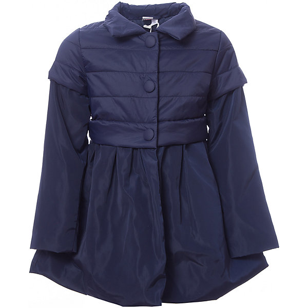 Куртка iDO для девочкиВерхняя одежда<br>Характеристики товара:<br><br>• цвет: синий<br>• состав ткани: 100% полиэстер<br>• подкладка: 100% полиэстер<br>• утеплитель: нет<br>• сезон: демисезон<br>• особенности модели: без капюшона<br>• застежка: молния<br>• страна бренда: Италия<br><br>Удлиненная детская куртка сделана из качественного материала. Модная куртка для ребенка - от известного итальянского бренда iDO, который известен высоким качеством и европейским стилем выпускаемой одежды для детей. Куртка для девочки поможет создать удобный и модный наряд в прохладную погоду.<br><br>Куртку iDO (АйДу) для девочки можно купить в нашем интернет-магазине.<br>Ширина мм: 356; Глубина мм: 10; Высота мм: 245; Вес г: 519; Цвет: синий; Возраст от месяцев: 24; Возраст до месяцев: 36; Пол: Женский; Возраст: Детский; Размер: 98,122,116,110,104; SKU: 7588645;