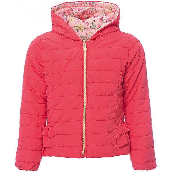 Купить Куртка iDO для девочки, Китай, оранжевый, 92, 122, 116, 110, 104, 98, Женский