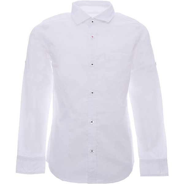 Рубашка iDO для мальчикаБлузки и рубашки<br>Характеристики товара:<br><br>• цвет: белый<br>• состав ткани: 63% хлопок, 37% полиэстер<br>• сезон: круглый год<br>• особенности модели: нарядная<br>• застежка: пуговицы<br>• длинные рукава<br>• страна бренда: Италия<br>• стиль и качество iDO<br><br>Белая классическая рубашка для мальчика сшита из дышащего материала, который отлично подходит малышам. Такая детская рубашка от известного бренда iDO из Италии обеспечит ребенку комфорт. Рубашка для детей отличается классическим кроем и высоким качеством пошива.<br><br>Рубашку iDO (АйДу) для мальчика можно купить в нашем интернет-магазине.<br>Ширина мм: 174; Глубина мм: 10; Высота мм: 169; Вес г: 157; Цвет: белый; Возраст от месяцев: 84; Возраст до месяцев: 96; Пол: Мужской; Возраст: Детский; Размер: 152,140,128,170,164; SKU: 7588677;