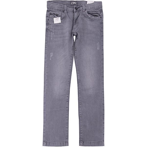 Джинсы iDO для мальчикаДжинсы<br>Характеристики товара:<br><br>• цвет: синий<br>• состав ткани: 95% хлопок, 5% синтетическое волокно<br>• сезон: круглый год<br>• застежка: пуговица<br>• шлевки<br>• страна бренда: Италия<br><br>Комфортные джинсы для ребенка разработаны итальянскими дизайнерами популярного бренда iDO, который выпускает модные и удобные вещи для детей. Стильные джинсы для мальчика выполнены преимущественно из дышащего натурального хлопка. Эти детские джинсы - с эффектом потертости.<br><br>Джинсы iDO (АйДу) для мальчика можно купить в нашем интернет-магазине.<br>Ширина мм: 215; Глубина мм: 88; Высота мм: 191; Вес г: 336; Цвет: темно-серый; Возраст от месяцев: 156; Возраст до месяцев: 168; Пол: Мужской; Возраст: Детский; Размер: 146,140,134,128,170,164,158,152; SKU: 7588981;