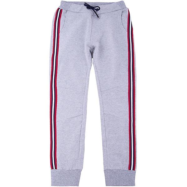 Брюки iDO для мальчикаБрюки<br>Брюки iDO для мальчика<br>Спортивные трикотажные брюки на манжетах с контрастными лампасами.<br><br>Состав: <br>95% хлопок 5% др.вол.<br>Ширина мм: 215; Глубина мм: 88; Высота мм: 191; Вес г: 336; Цвет: серый; Возраст от месяцев: 84; Возраст до месяцев: 96; Пол: Мужской; Возраст: Детский; Размер: 128,164,152,140; SKU: 7589023;