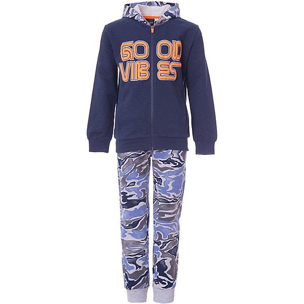 Купить Спортивный костюм iDO для мальчика, Китай, сине-серый, 128, 170, 164, 152, 140, Мужской
