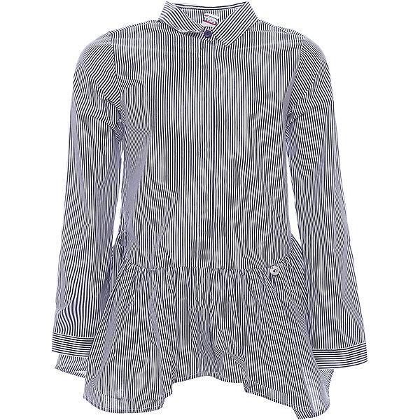 Рубашка iDO для девочкиБлузки и рубашки<br>Рубашка iDO для девочки<br>Удлиненная блузка-рубашка с оборками. <br><br>Состав: <br>65% хлопок 32% акрил 3% др.вол.<br>Ширина мм: 199; Глубина мм: 10; Высота мм: 161; Вес г: 151; Цвет: синий; Возраст от месяцев: 168; Возраст до месяцев: 180; Пол: Женский; Возраст: Детский; Размер: 170,128,140,152,164; SKU: 7589189;