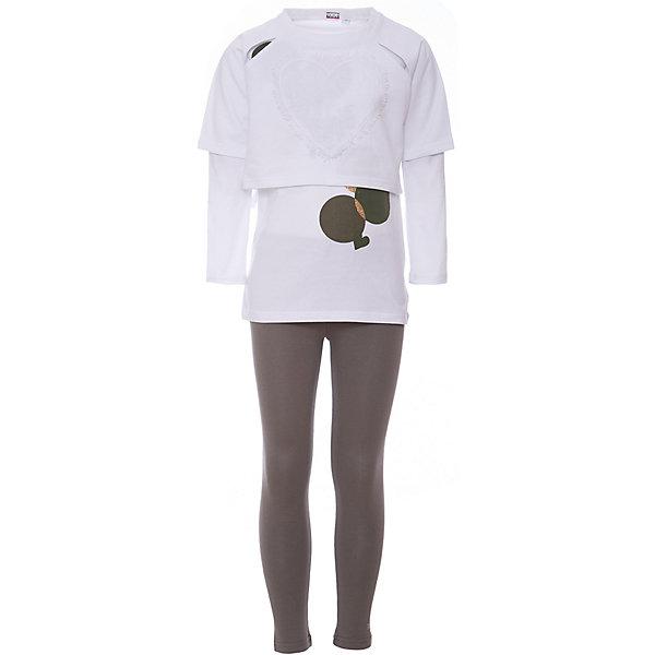 Комплект: футболка с длинным рукавом, леггинсы iDO для девочкиКомплекты<br>Комплект: футболка с длинным рукавом, леггинсы iDO для девочки<br>Трикотажный комплект для девочки.<br>Состав:<br>100% хлопок<br>Ширина мм: 230; Глубина мм: 40; Высота мм: 220; Вес г: 250; Цвет: зеленый; Возраст от месяцев: 84; Возраст до месяцев: 96; Пол: Женский; Возраст: Детский; Размер: 128,170,164,152,140; SKU: 7589195;
