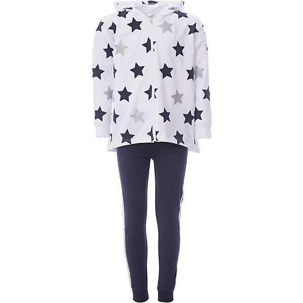 Спортивный костюм iDO для девочкиСпортивная одежда<br>Характеристики товара:<br><br>• цвет: голубой<br>• комплектация: толстовка, брюки<br>• состав ткани: 100% хлопок<br>• сезон: демисезон<br>• особенности модели: спортивный стиль, с капюшоном<br>• застежка: молния<br>• пояс: резинка, шнурок<br>• длинные рукава<br>• страна бренда: Италия<br><br>Стильный спортивный костюм для девочки сделан из натурального хлопкового материала, он создает комфортный микроклимат для тела. Этот детский спортивный костюм - от итальянского бренда iDO, известного качественной и стильной одеждой для детей. Спортивный костюм для ребенка состоит из двух модных вещей. <br><br>Спортивный костюм iDO (АйДу) для девочки можно купить в нашем интернет-магазине.<br>Ширина мм: 247; Глубина мм: 16; Высота мм: 140; Вес г: 225; Цвет: голубой; Возраст от месяцев: 84; Возраст до месяцев: 96; Пол: Женский; Возраст: Детский; Размер: 128,170,164,152,140; SKU: 7589213;