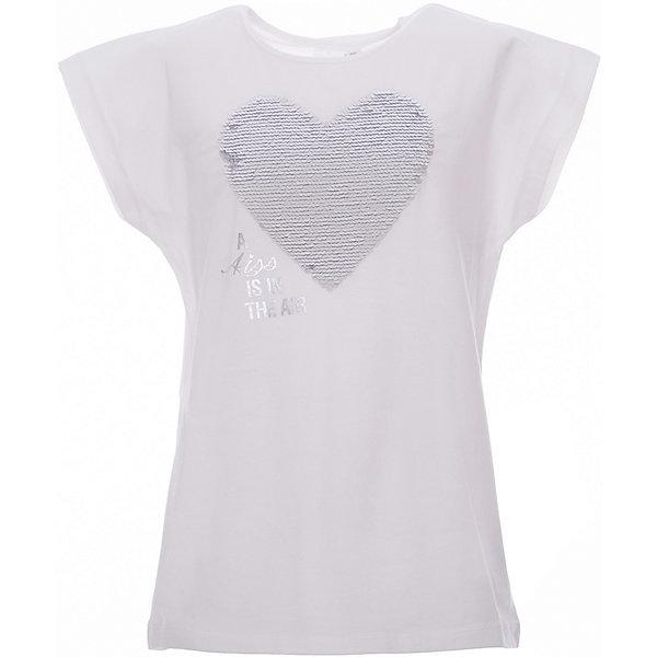 Футболка iDO для девочкиФутболки, поло и топы<br>Характеристики товара:<br><br>• цвет: белый<br>• состав ткани: 100% хлопок<br>• сезон: лето<br>• короткие рукава<br>• страна бренда: Италия<br><br>Такая детская футболка отличается оригинальным силуэтом. Эта футболка для ребенка - от известного итальянского бренда iDO, который известен высоким качеством и европейским стилем выпускаемой одежды для детей. Футболка для девочки поможет создать удобный и модный наряд.<br><br>Футболку iDO (АйДу) для девочки можно купить в нашем интернет-магазине.<br>Ширина мм: 199; Глубина мм: 10; Высота мм: 161; Вес г: 151; Цвет: белый; Возраст от месяцев: 84; Возраст до месяцев: 96; Пол: Женский; Возраст: Детский; Размер: 128,170,164,152,140; SKU: 7589309;