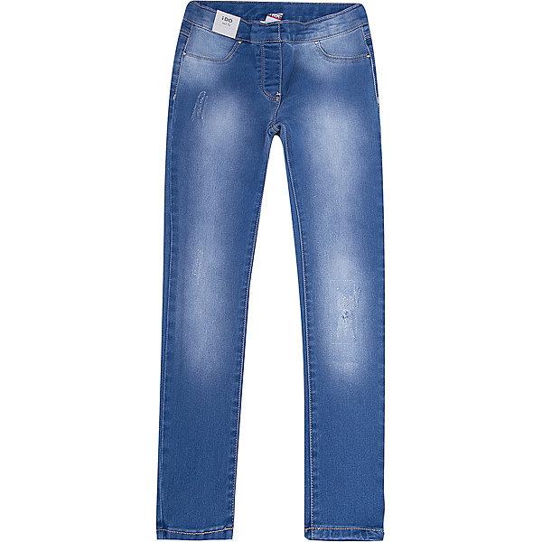 Джинсы iDO для девочкиДжинсы<br>Характеристики товара:<br><br>• цвет: синий<br>• состав ткани: 97% хлопок, 3% синтетическое волокно<br>• сезон: круглый год<br>• застежка: пуговица<br>• шлевки<br>• страна бренда: Италия<br><br>Серые джинсы для ребенка разработаны итальянскими дизайнерами популярного бренда iDO, который выпускает модные и удобные вещи для детей. Стильные джинсы для девочки выполнены преимущественно из дышащего натурального хлопка. Эти детские джинсы - с эффектом потертости.<br><br>Джинсы iDO (АйДу) для девочки можно купить в нашем интернет-магазине.<br>Ширина мм: 215; Глубина мм: 88; Высота мм: 191; Вес г: 336; Цвет: синий; Возраст от месяцев: 84; Возраст до месяцев: 96; Пол: Женский; Возраст: Детский; Размер: 128,170,164,152,140; SKU: 7589349;