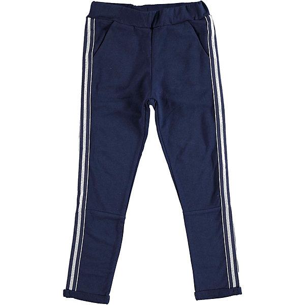 Брюки iDO для девочкиБрюки<br>Характеристики товара:<br><br>• цвет: синий<br>• состав ткани: 95% хлопок, 5% синтетическое волокно<br>• сезон: круглый год<br>• особенности модели: спортивный стиль<br>• пояс: резинка<br>• страна бренда: Италия<br>• стиль и качество iDO<br><br>Синие спортивные трикотажные брюки для ребенка созданы дизайнерами известного итальянского бренда iDO. Брюки для девочки сделаны из дышащего натурального хлопка. Спортивные детские брюки отличаются удобной посадкой. <br><br>Брюки iDO (АйДу) для девочки можно купить в нашем интернет-магазине.<br>Ширина мм: 215; Глубина мм: 88; Высота мм: 191; Вес г: 336; Цвет: синий; Возраст от месяцев: 84; Возраст до месяцев: 96; Пол: Женский; Возраст: Детский; Размер: 128,164,152,140; SKU: 7589376;