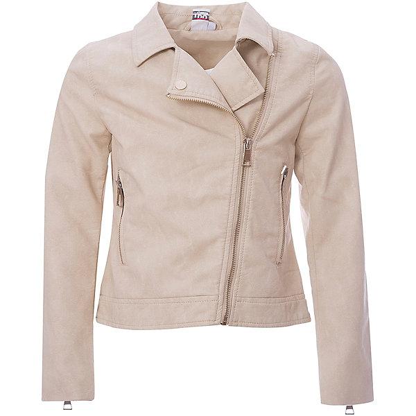 Купить Куртка iDO для девочки, Китай, бежевый, 128, 170, 164, 152, 140, Женский
