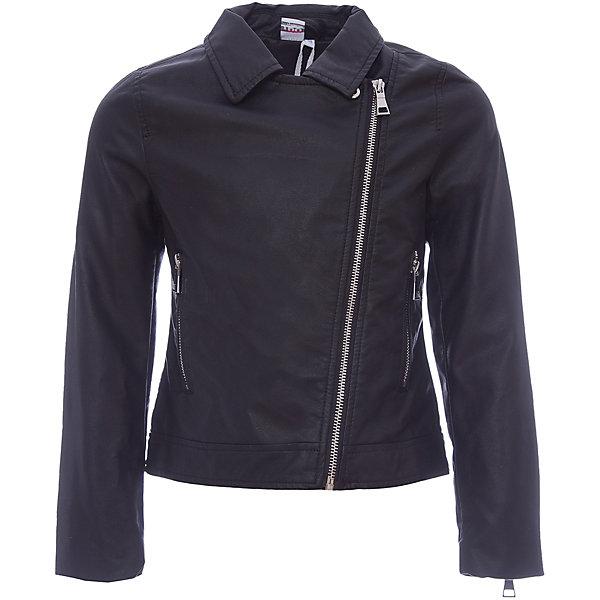Куртка iDO для девочкиВерхняя одежда<br>Характеристики товара:<br><br>• цвет: черный<br>• состав ткани: 85% вискоза, 15% полиэстер<br>• утеплитель: нет<br>• сезон: демисезон<br>• застежка: молния<br>• страна бренда: Италия<br>• стиль и качество iDO<br><br>Удобная куртка для девочки сделана из практичного безопасного для детей материала. Такая детская куртка от известного бренда iDO из Италии поможет создать модный и удобный наряд. Куртка для детей отличается стильным кроем с косой молнией и высоким качеством пошива.<br><br>Куртку iDO (АйДу) для девочки можно купить в нашем интернет-магазине.<br>Ширина мм: 356; Глубина мм: 10; Высота мм: 245; Вес г: 519; Цвет: черный; Возраст от месяцев: 84; Возраст до месяцев: 96; Пол: Женский; Возраст: Детский; Размер: 170,164,152,140,128; SKU: 7589549;