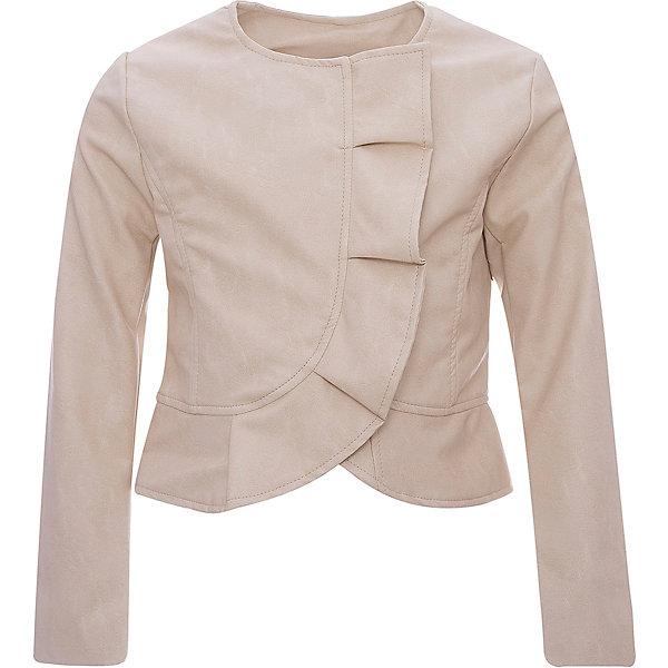 Купить Куртка iDO для девочки, Китай, бежевый, 152, 140, 128, 170, 164, Женский