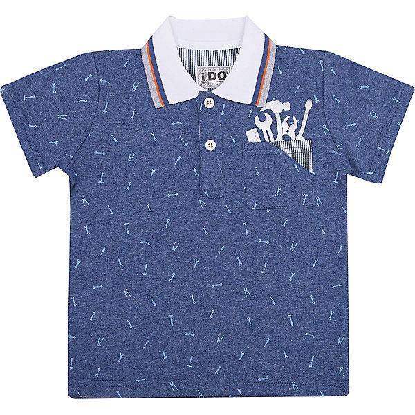 Футболка-поло iDO для мальчикаФутболки, поло и топы<br>Характеристики товара:<br><br>• цвет: голубой<br>• состав ткани: 100% хлопок<br>• сезон: лето<br>• короткие рукава<br>• страна бренда: Италия<br><br>Стильная футболка-поло для мальчика поможет создать удобный и модный наряд. Такая хлопковая детская футболка-поло с коротким рукавом отличается оригинальным принтом. Эта футболка-поло для ребенка - от известного итальянского бренда iDO, который известен высоким качеством и европейским стилем выпускаемой одежды для детей. <br><br>Футболку-поло iDO (АйДу) для мальчика можно купить в нашем интернет-магазине.<br>Ширина мм: 199; Глубина мм: 10; Высота мм: 161; Вес г: 151; Цвет: голубой; Возраст от месяцев: 24; Возраст до месяцев: 36; Пол: Мужской; Возраст: Детский; Размер: 98,122,116,110,104; SKU: 7589711;