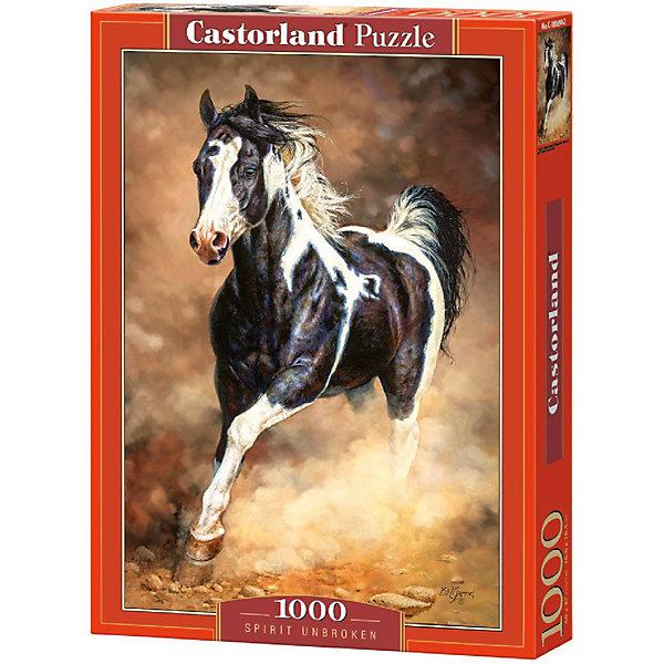 Пазл Castorland Бегущая лошадь 1000 деталейПазлы классические<br>Характеристики товара:<br><br>• возраст: от 9 лет;<br>• количество деталей: 1000 шт;<br>• материал: картон;<br>• размер упаковки: 35х25х5,2 см;<br>• размер картины: 68х47 см;<br>• вес упаковки: 500 гр.;<br>• страна производитель: Польша.<br><br>Пазл Castorland (Касторлэнд) Бегущая лошадь – это отличный способ увлекательно провести досуг, снять стресс и развить моторику.<br><br>Качество этих пазлов подтверждено миллионами любителей сборки пазлов. Пазлы Castorland собираются легко. Каждая деталь имеет индивидуальную форму и легко соединяется с другой, поэтому у Вас обязательно получится ожидаемый результат - картина собранная собственными руками.<br><br>Пазл Castorland (Касторлэнд) Бегущая лошадь можно купить в нашем интернет-магазине.<br><br>Ширина мм: 350<br>Глубина мм: 250<br>Высота мм: 50<br>Вес г: 500<br>Возраст от месяцев: 168<br>Возраст до месяцев: 2147483647<br>Пол: Унисекс<br>Возраст: Детский<br>SKU: 7590943