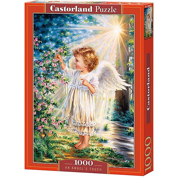 Пазл Castorland Прикосновение Ангела 1000 деталейПазлы классические<br>Характеристики товара:<br><br>• возраст: от 9 лет;<br>• количество деталей: 1000 шт;<br>• материал: картон;<br>• размер упаковки: 35х25х5,2 см;<br>• размер картины: 68х47 см;<br>• вес упаковки: 500 гр.;<br>• страна производитель: Польша.<br><br>Пазл Castorland (Касторлэнд) Прикосновение Ангела – это отличный способ увлекательно провести досуг, снять стресс и развить моторику.<br><br>Качество этих пазлов подтверждено миллионами любителей сборки пазлов. Пазлы Castorland собираются легко. Каждая деталь имеет индивидуальную форму и легко соединяется с другой, поэтому у Вас обязательно получится ожидаемый результат - картина собранная собственными руками.<br><br>Пазл Castorland (Касторлэнд) Прикосновение Ангела можно купить в нашем интернет-магазине.<br>Ширина мм: 350; Глубина мм: 250; Высота мм: 50; Вес г: 500; Возраст от месяцев: 168; Возраст до месяцев: 2147483647; Пол: Унисекс; Возраст: Детский; SKU: 7590953;