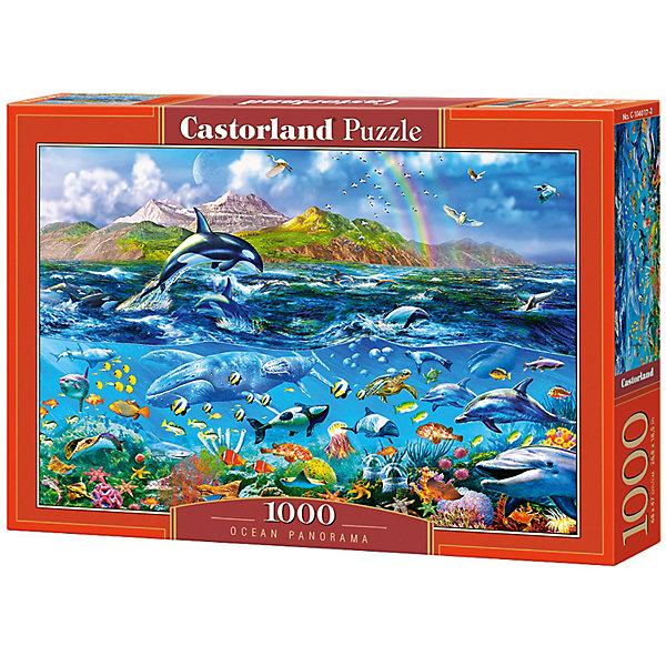 Пазл Castorland Панорама океана 1000 деталейПазлы классические<br>Характеристики товара:<br><br>• возраст: от 9 лет;<br>• количество деталей: 1000 шт;<br>• материал: картон;<br>• размер упаковки: 35х25х5,2 см;<br>• размер картины: 68х47 см;<br>• вес упаковки: 500 гр.;<br>• страна производитель: Польша.<br><br>Пазл Castorland (Касторлэнд) Панорама океана – это отличный способ увлекательно провести досуг, снять стресс и развить моторику.<br><br>Качество этих пазлов подтверждено миллионами любителей сборки пазлов. Пазлы Castorland собираются легко. Каждая деталь имеет индивидуальную форму и легко соединяется с другой, поэтому у Вас обязательно получится ожидаемый результат - картина собранная собственными руками.<br><br>Пазл Castorland (Касторлэнд) Панорама океана можно купить в нашем интернет-магазине.<br>Ширина мм: 350; Глубина мм: 250; Высота мм: 50; Вес г: 500; Возраст от месяцев: 168; Возраст до месяцев: 2147483647; Пол: Унисекс; Возраст: Детский; SKU: 7590963;