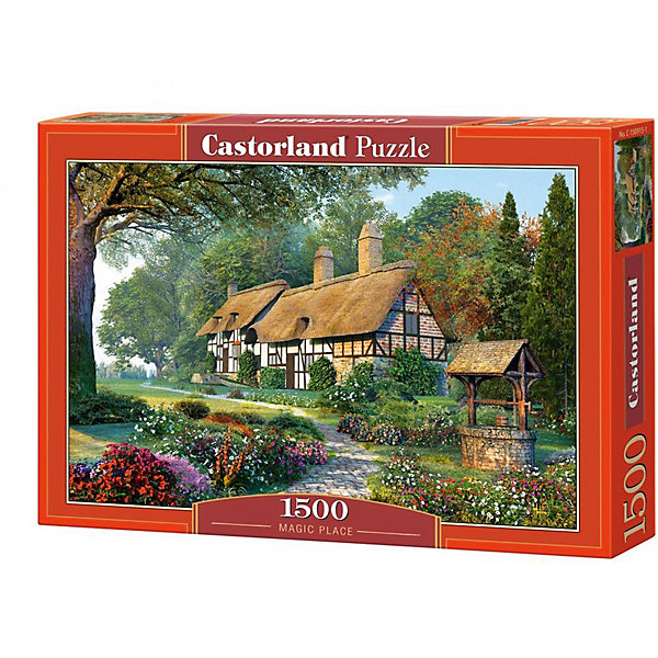 Купить Пазл Castorland Волшебный дом 1500 деталей, Польша, Унисекс