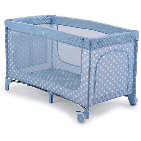 Кровать-манеж Happy Baby Martin, голубойДетские кроватки<br>Характеристики:<br><br>• кровать-манеж с окнами;<br>• вентиляция, освещение, обзор;<br>• боковой игровой лаз на молнии;<br>• боковой карман для мелочей;<br>• атравматичные накладки;<br>• 2 колеса для удобства перемещения;<br>• в комплекте: сумка-переноска, второе дно;<br>• материал: 100% полиэстер;<br>• размер в сложенном виде: 21х22х80 см;<br>• размер в разложенном виде: 128х71х76 см.<br><br>Игровой манеж Martin Happy Baby 2в1: манеж и кроватка. Большие окна обеспечивают вентиляцию, прекрасное освещение и позволяют хорошо видеть малыша, когда он спит или играет. Колесики делают удобным перемещение манежа-кроватки по дому. Все углы и опасные для ребенка поверхности защищены специальными атравматичными накладками. В комплектацию входит съемный жесткий матрасик, дополнительный второй уровень, а для активных малышей предусмотрен лаз.<br><br>Кровать-манеж Happy Baby Martin, голубой можно купить в нашем интернет-магазине.<br><br>Ширина мм: 210<br>Глубина мм: 220<br>Высота мм: 795<br>Вес г: 11300<br>Цвет: голубой<br>Возраст от месяцев: 0<br>Возраст до месяцев: 36<br>Пол: Мужской<br>Возраст: Детский<br>SKU: 7620021