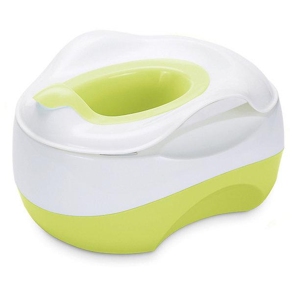 Детский горшок Happy Baby X-pot, зеленыйДетские горшки и писсуары<br>Характеристики:<br><br>• функциональный горшок 3в1;<br>• горшок, накладка на унитаз, подставка для ног;<br>• резиновые накладки;<br>• съемный контейнер для удобства очистки;<br>• обтекаемая форма горшка;<br>• материал: пластик;<br>• возраст: от 6 месяцев.<br><br>Горшок-трансформер с функциями стандартного горшка, накладки на унитаз для подросшего ребенка и подставки для ног, когда ребенок сам умывается над раковиной, а дотянуться без ступеньки не может. Горшок X-pot облегчает процесс перехода от подгузников к взрослому унитазу. <br><br>Детский горшок Happy Baby X-pot, голубой можно купить в нашем интернет-магазине.<br>Ширина мм: 370; Глубина мм: 310; Высота мм: 220; Вес г: 1650; Цвет: зеленый; Возраст от месяцев: 6; Возраст до месяцев: 60; Пол: Унисекс; Возраст: Детский; SKU: 7620025;