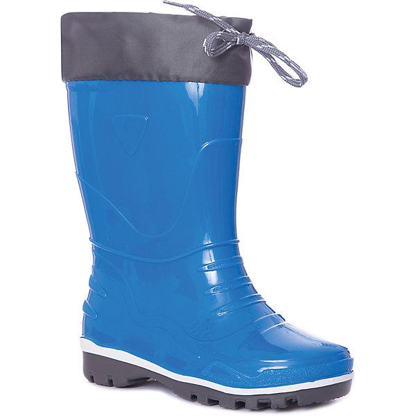 Резиновые сапоги Nordman для мальчикаРезиновые сапоги<br>Характеристики товара:<br><br>• цвет: синий;<br>• модель: Step;<br>• материал: ПВХ;<br>• материал манжеты: ткань Oxford;<br>• сезон: демисезон;<br>• толстая устойчивая подошва;<br>• температурный режим: от +10° до +20° С;<br>• без утеплителя;<br>• страна бренда: Россия.<br><br>Резиновые сапоги Nordman позволяют сохранить ноги в тепле и одновременно не дают им промокнуть. Такая обувь отлично подходит и для теплого лета и для слякоти в межсезонье.<br><br>Резиновые сапоги Nordman для мальчика без утеплителя выполнены из непромокаемого материала ПВХ, который защищает от дождя и слякоти. Водозащитные манжеты из ткани Окфорд защищают ногу от попадания влаги. Высокое голенище предотвращает попадание влаги или грязи в сапог. Толстая устойчивая подошва позволяет ребенку увереннее держать равновесие.<br><br>Резиновые сапоги Nordman (Нордман) можно купить в нашем интернет-магазине.<br>Ширина мм: 237; Глубина мм: 180; Высота мм: 152; Вес г: 438; Цвет: синий; Возраст от месяцев: 72; Возраст до месяцев: 84; Пол: Мужской; Возраст: Детский; Размер: 30,35,34,33,32,31,29,28,27,26,25,24,23,22; SKU: 7625094;