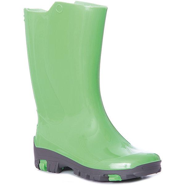 Резиновые сапоги NordmanРезиновые сапоги<br>Характеристики товара:<br><br>• цвет: зеленый;<br>• модель: Rain;<br>• сезон: демисезон;<br>• материал: ПВХ;<br>• толстая устойчивая подошва;<br>• температурный режим: от +10° до +20° С;<br>• без утеплителя;<br>• страна бренда: Россия.<br><br>Резиновые сапоги Nordman позволяют сохранить ноги сухими. Такая обувь отлично подходит и для теплого лета и для слякоти в межсезонье.<br><br>Детские резиновые сапоги выполнены из непромокаемого материала ПВХ, который защищает от дождя и слякоти. Необычный оригинальный дизайн сочетается с практичностью и функциональностью. <br><br>Резиновые сапоги Nordman (Нордман) можно купить в нашем интернет-магазине.<br>Ширина мм: 237; Глубина мм: 180; Высота мм: 152; Вес г: 438; Цвет: зеленый; Возраст от месяцев: 18; Возраст до месяцев: 21; Пол: Унисекс; Возраст: Детский; Размер: 23/24,24/25,25/26,26/27,27/28,28/29,29/30,30/31,31/32,32/33,33/34,34/35; SKU: 7625253;
