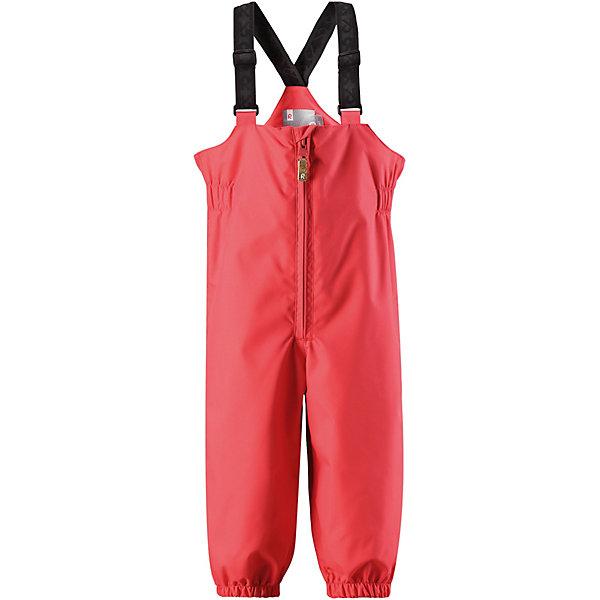Брюки  ReimaОдежда<br>Брюки  Reima <br>Эти водонепроницаемые брюки для малышей для прогулок на воздухе весной и осенью гарантируют надежную защиту от ветра и дождя. Они хорошо комбинируются со всеми демисезонными куртками для младенцев Reima®. Удобные, эластичные подтяжки регулируются, предоставляя пространство на вырост. Эластичные штрипки удобно фиксируют низ брючин при ходьбе, защищая щиколотки во время игр на воздухе.<br>Состав:<br>100% Полиэстер, полиуретановое покрытие<br>Ширина мм: 215; Глубина мм: 88; Высота мм: 191; Вес г: 336; Цвет: красный; Возраст от месяцев: 12; Возраст до месяцев: 15; Пол: Унисекс; Возраст: Детский; Размер: 80,98,92,86; SKU: 7628303;